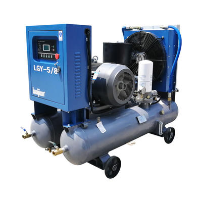 30kw screw air compressor is dedicated to mining industry