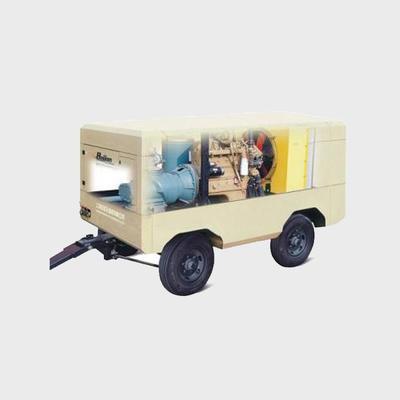 Baijian Mobile Diesel Screw Air Compressor, economic,energy-saving