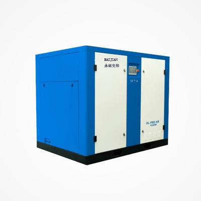 Baijian water lubrication oil-free air compressor, oil-free silent screw air compressor